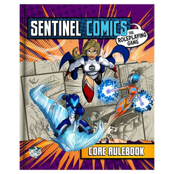 Sentinel Comics RPG Core Rulebook