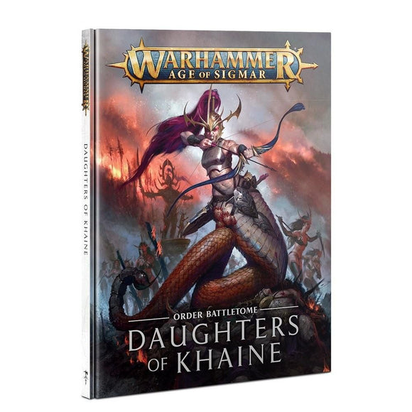 Warhammer Age of Sigmar Daughters of Khaine Battletome 2021