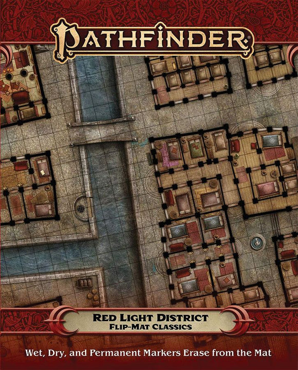 Pathfinder RPG Flip-Mat Classics Red Light District