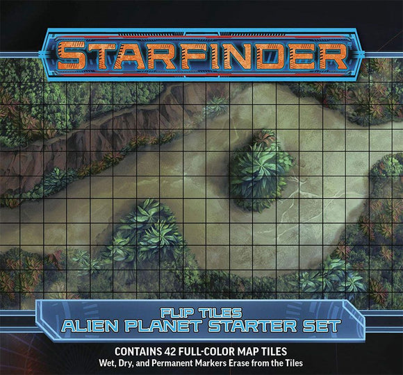 Starfinder RPG Flip Tiles Alien Planet Starter Set