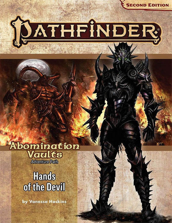 Pathfinder RPG 2e Adventure Path Abomination Vaults 2 - Hands of the Devil