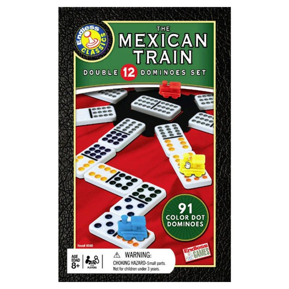 Mexican Train Dominoes (Tin)