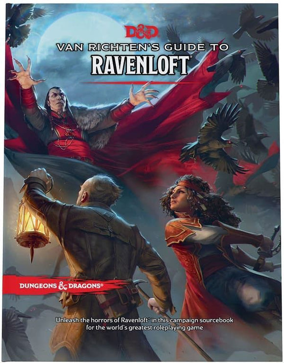D&D 5E Van Richten's Guide to Ravenloft Regular Cover