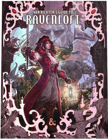 D&D 5E Van Richten's Guide to Ravenloft Limited Edition Cover