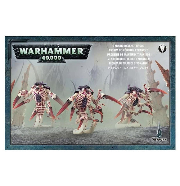 W40K Tyranid Ravener Brood