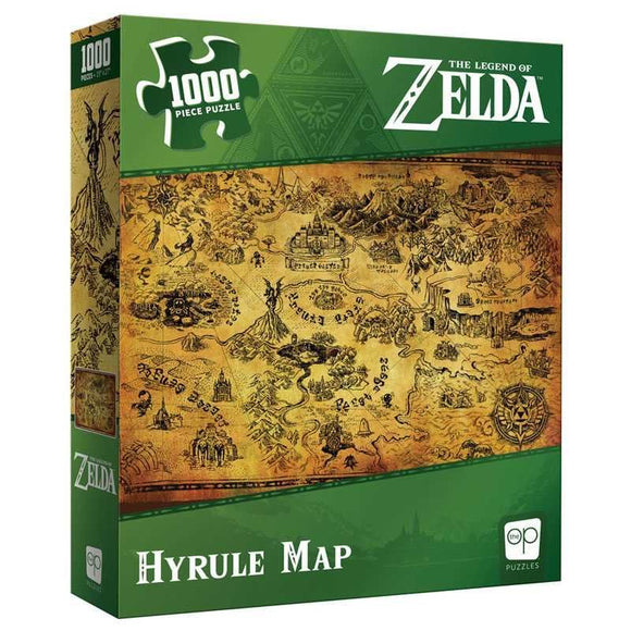 Zelda Hyrule Map 1000pc