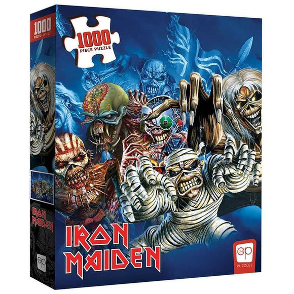 Iron Maiden Faces of Eddie 1000