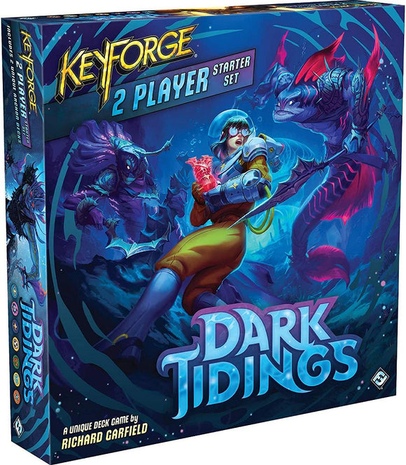 KeyForge Dark Tidings 2 Player Starter Set