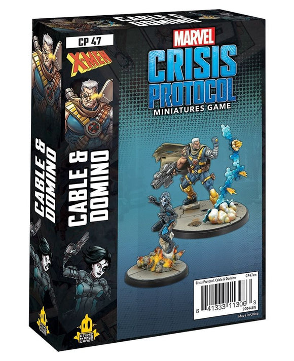 Marvel Crisis Protocol Cable and Domino – Common Ground Games