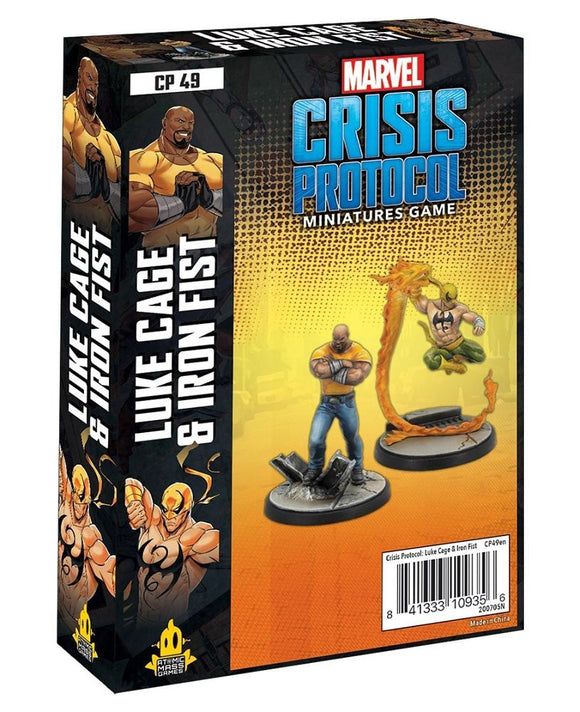Marvel Crisis Protocol Luke Cage and Iron Fist – Common Ground Games
