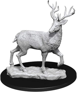 WizKids Deep Cuts Unpainted Miniatures: Stag