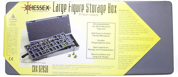 Chessex Large Figure Storage/80 (02850)