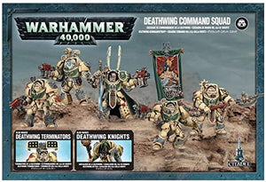 Warhammer 40,000 Space Marines Deathwing Command Squad