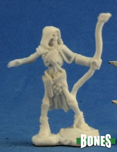 Reaper Miniatures Bones Skeleton Guardian Archer (3) (77237)