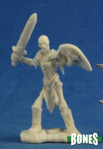Reaper Miniatures Bones Skeleton Guard Sword (3) (77240)
