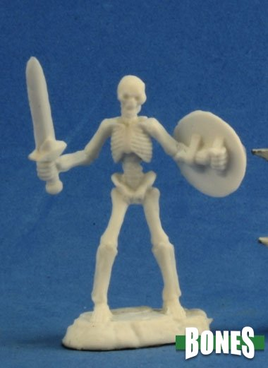 Reaper Miniatures Bones Skeleton Warrior with Sword (77242)