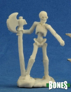 Reaper Miniatures Bones Skeleton Warrior Axemen (3) (77243)