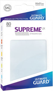 Ultimate Guard 80ct Standard Supreme UX Sleeves Frosted (10626)