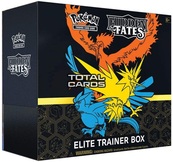 Pokemon TCG Hidden Fates Elite Trainer Box