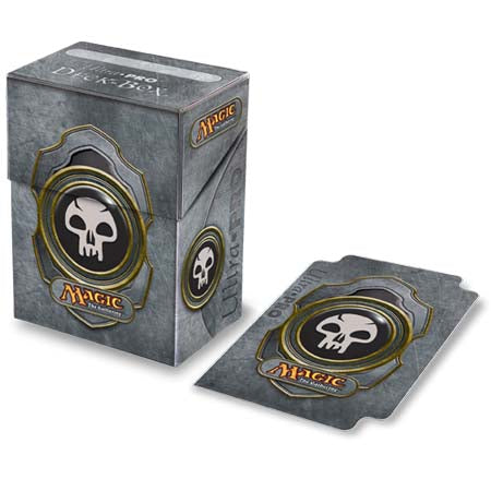 Ultra Pro Deck Box Magic the Gathering Mana v3 Black (82449-3)