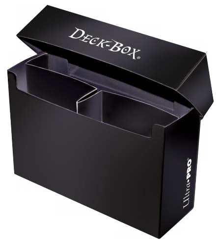 Ultra Pro Deck Box 3 Compartment Oversized Black (82487)