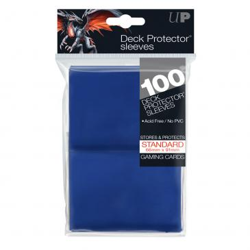 Ultra Pro Standard Card Game Sleeves 100ct Blue (82692)