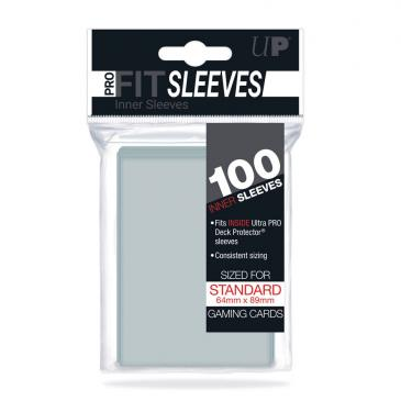 Ultra Pro Standard PRO-Fit Card Game Sleeves 100ct Clear (82712)