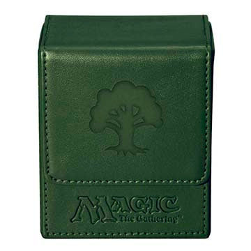 Ultra Pro Flip Deck Box Magic the Gathering Mana Green (82770)