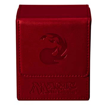 Ultra Pro Flip Deck Box Magic the Gathering Mana Red (82771)