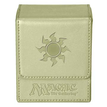 Ultra Pro Deck Box Magic the Gathering Mana Flip White (82772)