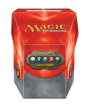 Ultra Pro Hex Deck Box Magic the Gathering Commander Red (82912)