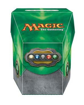 Ultra Pro Hex Deck Box Magic the Gathering Commander Green (82913)