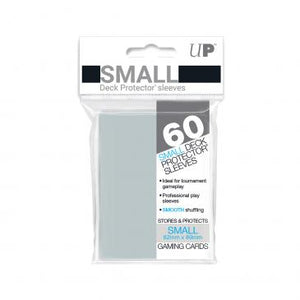 Ultra Pro Small Card Game Sleeves 60ct Clear (82962)