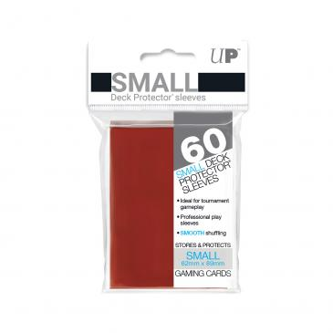 Ultra Pro Small Card Game Sleeves 60ct Red (82967)