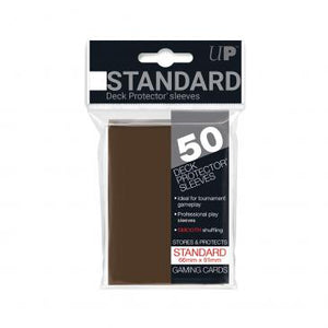 Ultra Pro Standard Card Game Sleeves 50ct Brown (84027)
