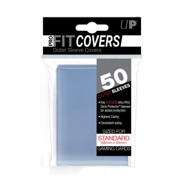 Ultra Pro Standard Card Game 50ct Sleeve Covers Clear (84080)
