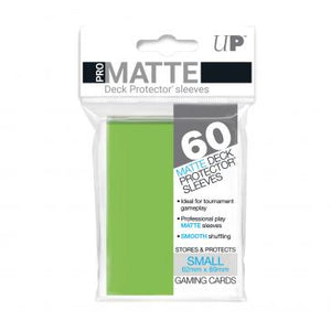 Ultra Pro Small Card Game Sleeves 60ct Pro-Matte Lime Green (84272)