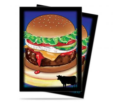 Ultra Pro Standard Card Game Sleeves 50ct Foodie Burger (84322)