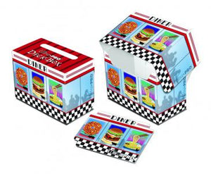 Ultra Pro Deck Box Novelty Foodie Diner (84324)