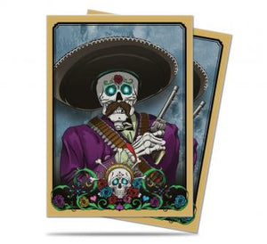 Ultra Pro Standard Card Game Sleeves 50ct Dia De Los Muertos Mariachi (84946)
