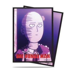 Ultra Pro Standard Card Game Sleeves 65ct One-Punch Man Saitama Okay (85164)