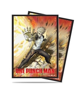 Ultra Pro Standard Card Game Sleeves 65ct One-Punch Man Genos (85165)