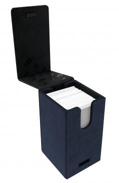 Ultra Pro Alcove Tower Flip Deck Box Suede Collection Sapphire (85763)