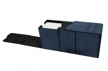 Ultra Pro Alcove Vault Deck Box Suede Collection Sapphire (85897)