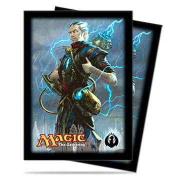 Ultra Pro Standard Card Game Sleeves 80ct Magic the Gathering Dragon's Maze Ral Zarek (86051)