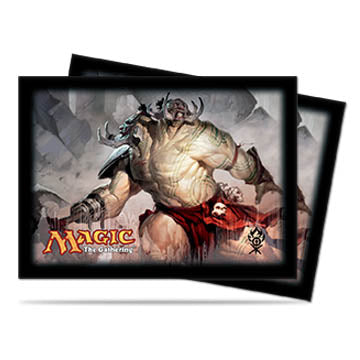 Ultra Pro Standard Card Game Sleeves 80ct Magic the Gathering Dragon's Maze Ruric Thar (86057)