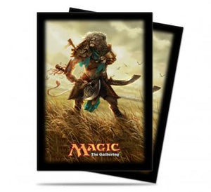 Ultra Pro Standard Card Game Sleeves 80ct Magic the Gathering Journey into Nyx Ajani (86156)