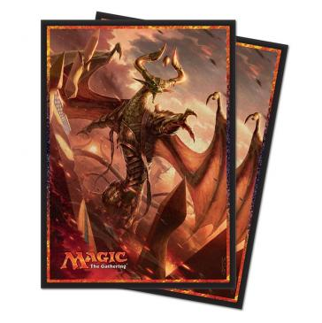 Ultra Pro Standard Card Game Sleeves 80ct Magic the Gathering Hour of Devastation Nicol Bolas (86568)