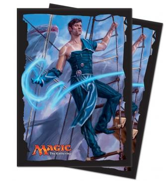 Ultra Pro Standard Card Game Sleeves 80ct Magic the Gathering Ixalan Jace, Cunning Castaway (86614)