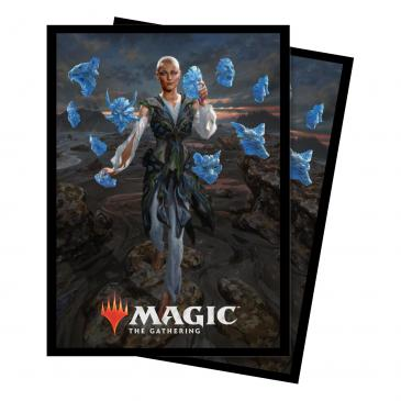Ultra Pro Standard Card Game Sleeves 100ct Magic the Gathering Commander 2018 Estrid, the Masked (86872)